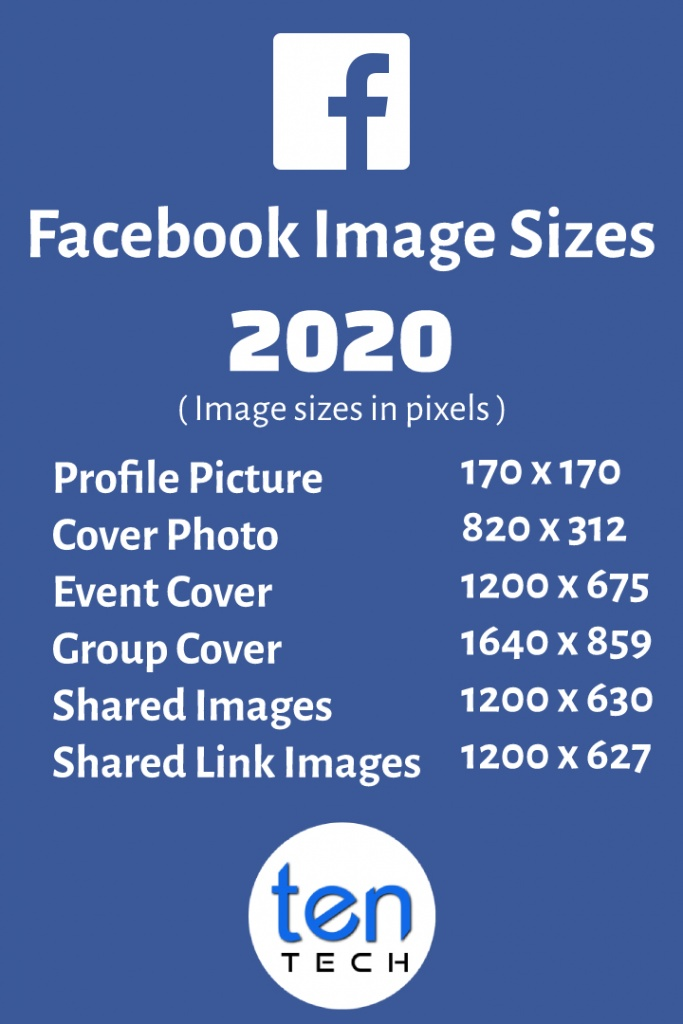 Facebook Image Sizes in 2020