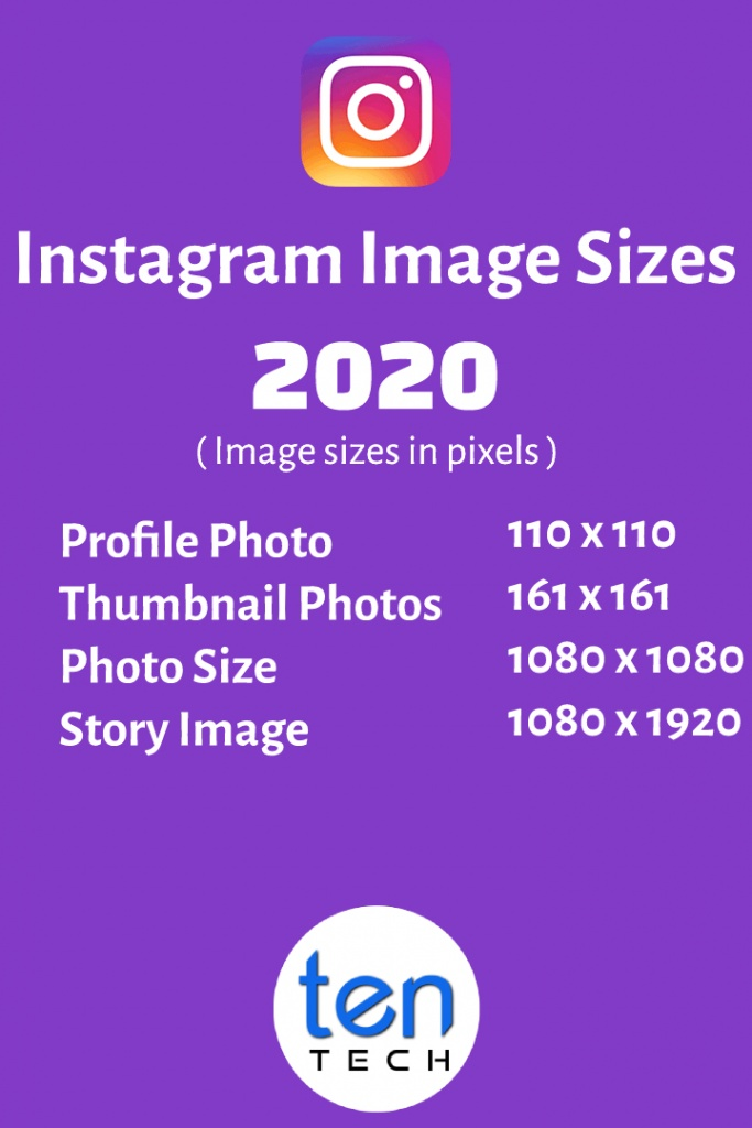 Instagram Image Sizes in 2020